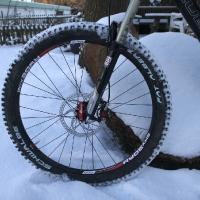 Cube Stereo RX im Schnee 12/2010