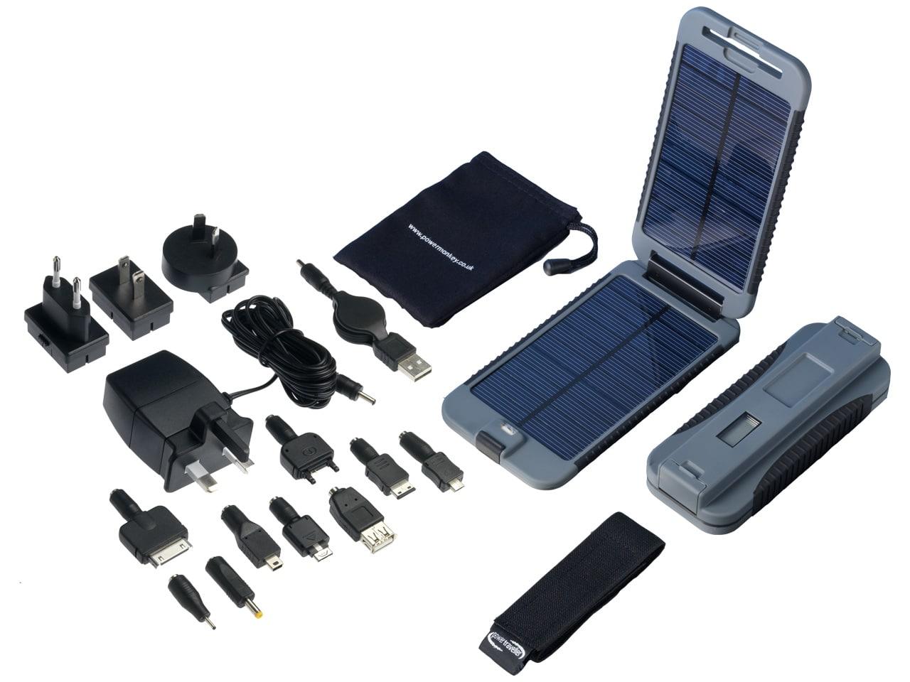 Powrtraveller - Powermonkey eXtreme Solarladegerät
